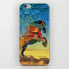 The Wind of Time (Red Horse) iPhone & iPod Skin