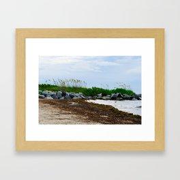 Key Biscayne Beach Framed Art Print
