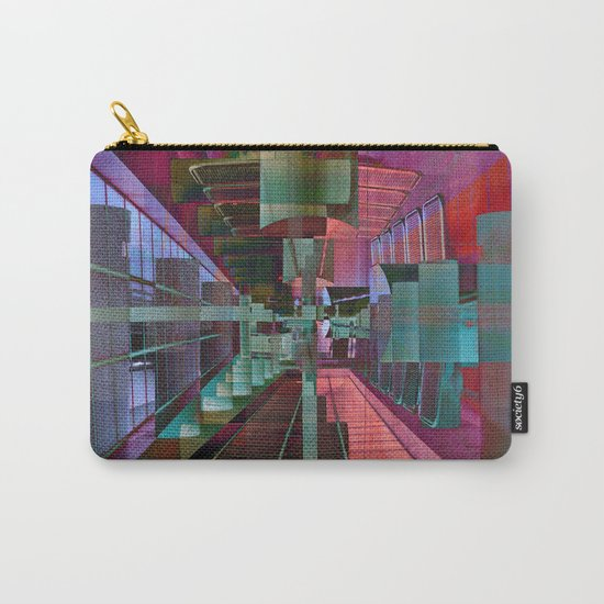 MAGIC CITY LINES Carry-All Pouch