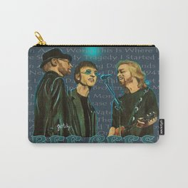 Bee Gee's Poster Carry-All Pouch