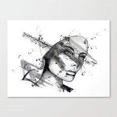 Miriam by carographic Canvas Print