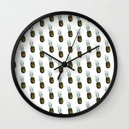 Take my pineapple! Pattern :) Wall Clock