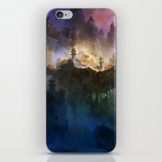 Valley of Temple iPhone Skin