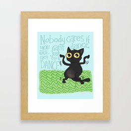 Get up and Dance! Framed Art Print