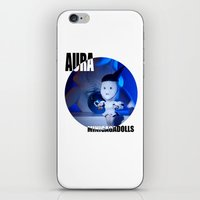 artrave iPhone & iPod Skins featuring AURA ARTRAVE by Sergiomonster
