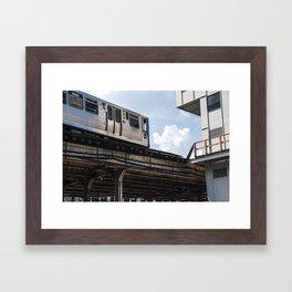 The L Framed Art Print