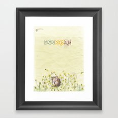 doerayme Framed Art Print