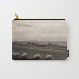 Sheep Grazing Jura Snow Carry-All Pouch
