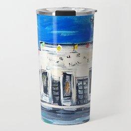 Gruene Hall Colored Lights Travel Mug