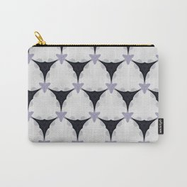Lovely Lavendar Geometric Pattern Carry-All Pouch