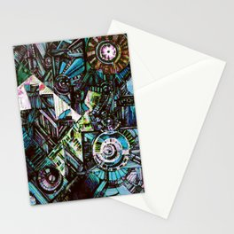 """mind gear"" Stationery Cards"
