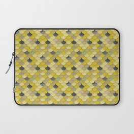 Gold Mermaid Scales Laptop Sleeve