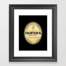 Lovely day for a Nightlock Framed Art Print