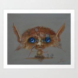Little Wizard Art Print