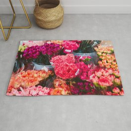 All The Carnations Rug