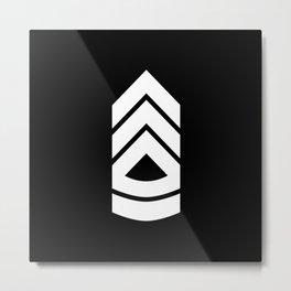 Sergeant first class Metal Print