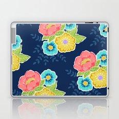 Floral Beauty - Midnight Laptop & iPad Skin