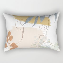 Line in Nature II Rectangular Pillow