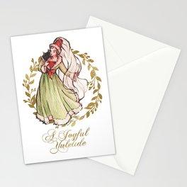 Burgundian Blessings Stationery Cards