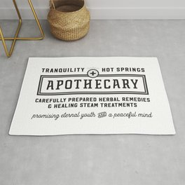 Tranquility Hot Springs + Apothecary Rug