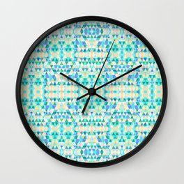 placid (tessellate 5) Wall Clock