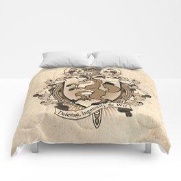 Fox Coat Of Arms Heraldry Comforters