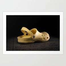 shoe 2 Art Print