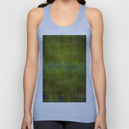 Green burrows ~ Abstract Unisex Tank Top