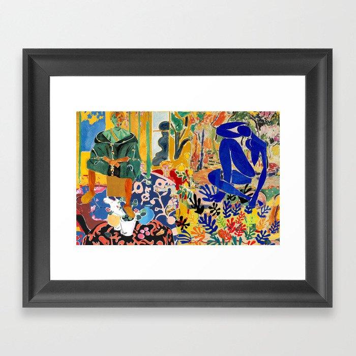 Henri el Matisse Gerahmter Kunstdruck