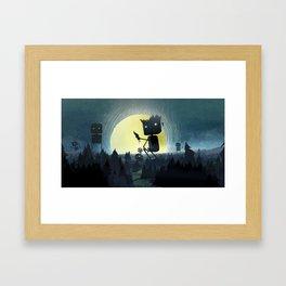 Hill Giants Framed Art Print