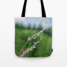 only a blade of grass Tote Bag