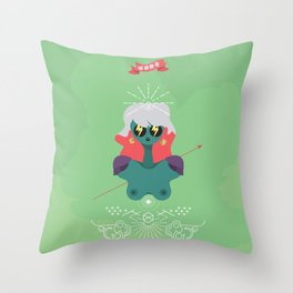 Imperator Throw Pillow