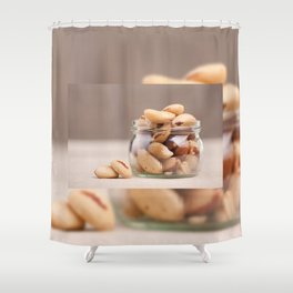 Brazil nuts from Bertholletia excelsa Shower Curtain