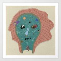 Inner sFace Art Print