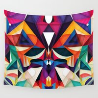 hot Wall Tapestries featuring Emotion in Motion by Anai Greog