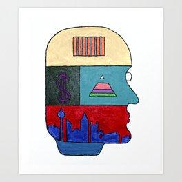 21st Century Living Art Print