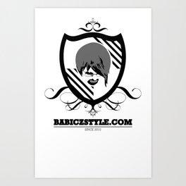 Babiczstyle Logo Art Print