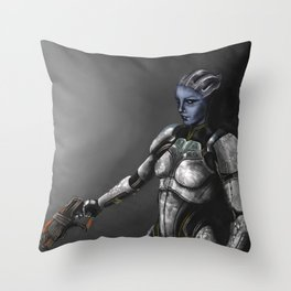 Dr. T'Soni Throw Pillow