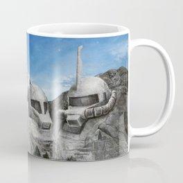 Rushmore Gundam Coffee Mug