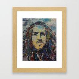 John Frusciante Framed Art Print