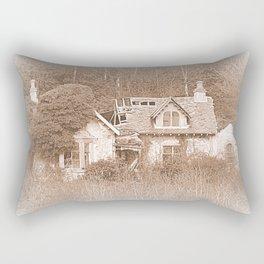 Derelict House Rectangular Pillow