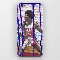 nba iPhone & iPod Skins featuring NBA PLAYERS - Julius Erving by Ibbanez