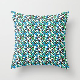 Hot Camouflage 2 Throw Pillow