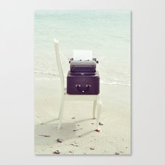The Voice of the Sea. Canvas Print