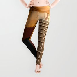 Music is a Moral Law Leggings