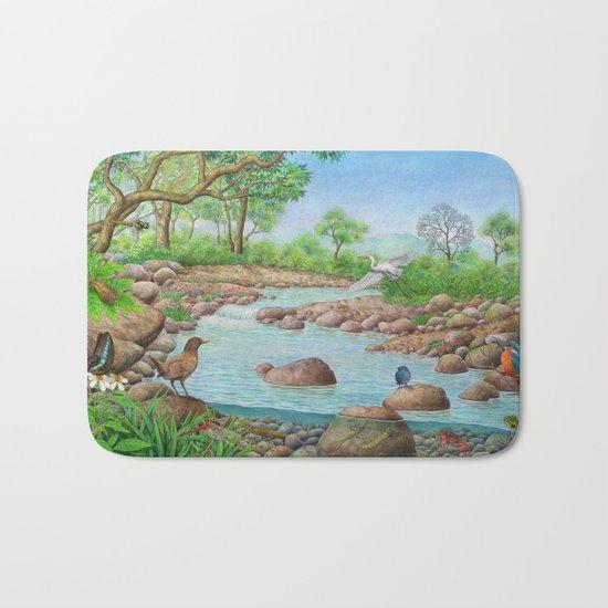 river  Bath Mat