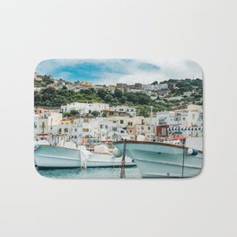 Capri Italy Fine Art Print Bath Mat