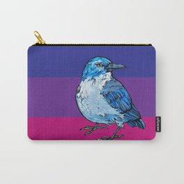 L'il Lard Butt Graphic Scrub Jay Carry-All Pouch