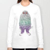 bigfoot Long Sleeve T-shirts featuring BigFoot by Paz Art