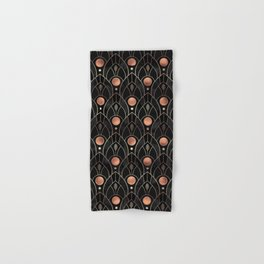 Art Deco Leaves / Version 3 Hand & Bath Towel